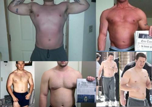 gras cu masa musculara