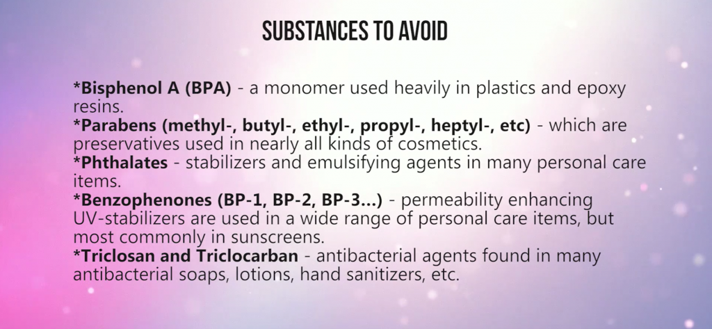 substances to avoid for testosterone